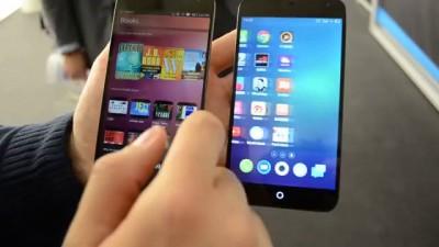 MWC14 - первые официально представленные смартфоны на базе ОС Ubuntu