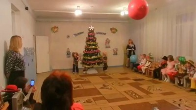 Танец живота на детском утреннике