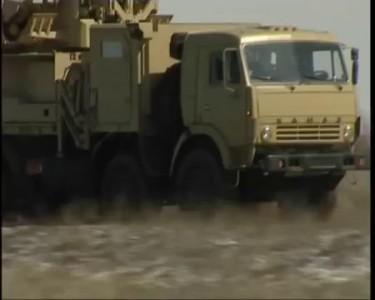 Панцирь-С1. Испытания на полигоне Капустин Яр, 2006 год.