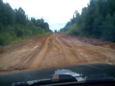 Федеральная трасса Пермь - Сыктывкар
