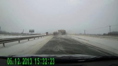 ДТП на трассе в Перми