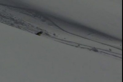 Мое падение на сноуборде