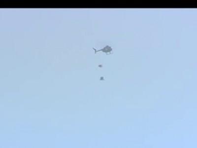 Прыжок без парашюта с высоты 730 метров!