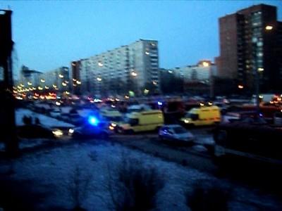 Взрыв в Питере.