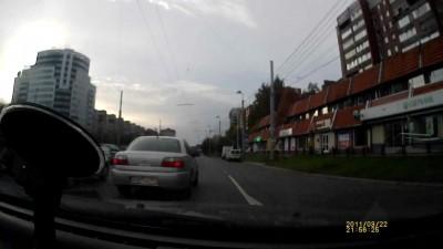 дибилы на дороге