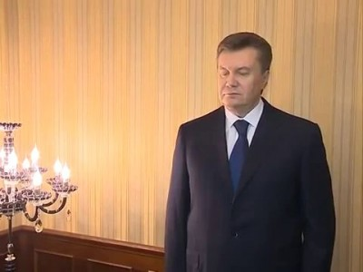 Последнее интервью Виктора Януковича