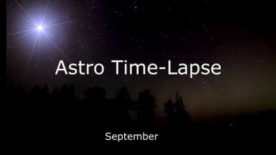 Astro Time-Lapse September