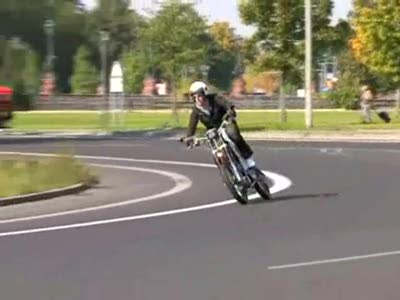ErockIT - Das weltweit erste Mensch-Maschine-Hybridmotorrad