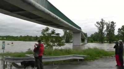 Наводнение в Чехии