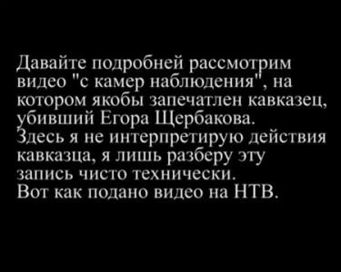 """Бирюлево: видео с """"камер наблюдения"""""""