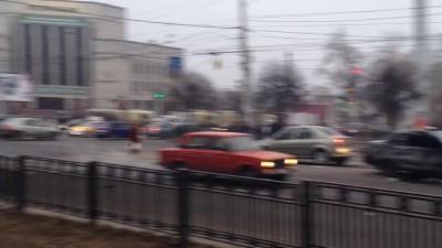 Жуткая авария, Воронеж 22.11.2014 _2