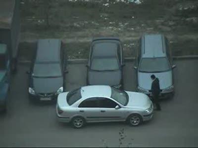 Парковка по идиотски