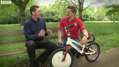 Jyrobike – детский велосипед-неваляшка
