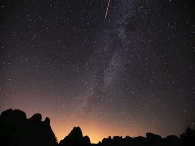 Метеоритный дождь «Персеиды»