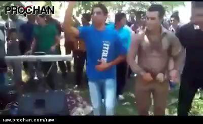 Kurd dancer