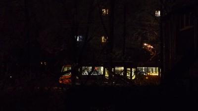 """21 января в Краснодаре шел """"ледяной дождь"""" Замыкания на токоприёмниках"""