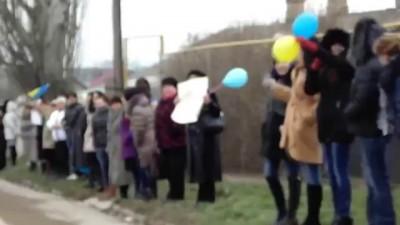 Украина Старый Крым против войны Митинг 08.03.14