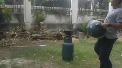 Fuel Tank Turns Into A Flamethrower