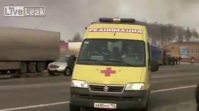 Brutal Fiery Crash Leaves 3 Dead (Two Video)