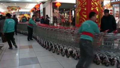 Китайская транспортировка тележек