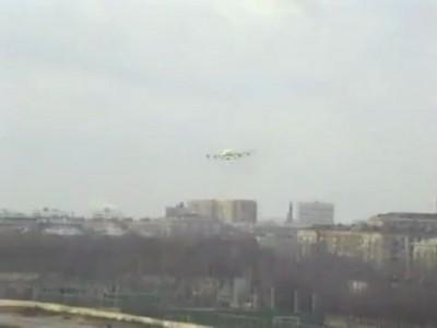 Ходынка. Взлеты и посадки Илов. Ил-96-300, Ил-76, Ил-38.