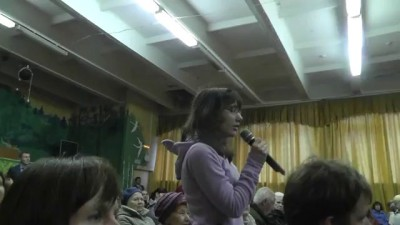 Вопрос губернатору Тверской области Шевелёву. 25.09.2012