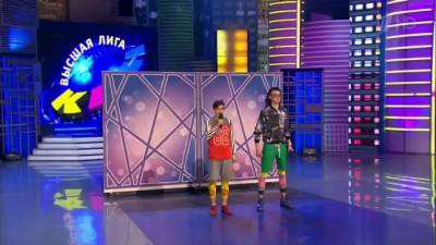 """КВН 2015 первая 1/4 - ДАЛС - Песня El Mudo - """"Chacarron Macarron"""""""
