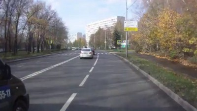 Автобус против маршрутки