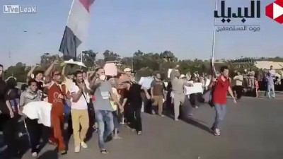 Инсценировка кровавых протестов в Египте для западных СМИ