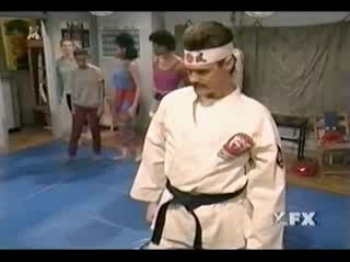 Jim Carey-Karate Instructor