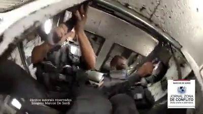 полиция проездом в фавеле