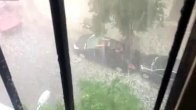 спасаем авто от града