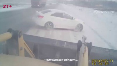 Подборка Аварий и ДТП от 24 02 2014 ! Compilation of Crashes and accidents from 24 02 2014 HD