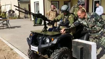 Брянская тачанка русского армейского спецназа