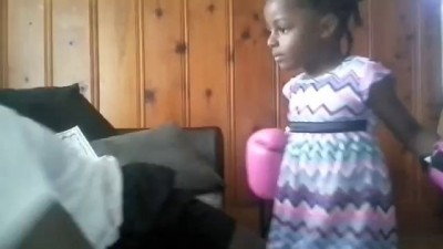 Little Girl Expert Boxer | Anti-Bully Training