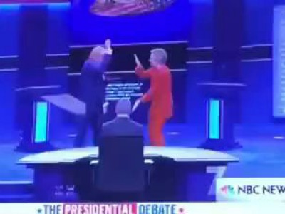 Трамп и Клинтон ♪♫♬ ♪♪