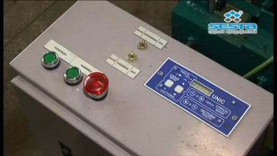 ВСА-97. Станок-автомат для изготовления сетки рабицы