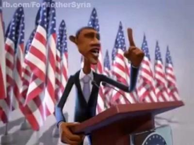 Забавный мульт про Обаму с ВНЕЗАПНЫМ ПРОДОЛЖЕНИЕМ!