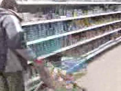 кувырок в супермаркете