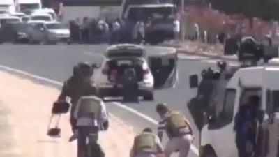 Подрыв заминированной машины в Турции