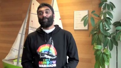 Kumi Naidoo from Greenpeace International - I Will IF You Will challenge for Earth Hour 2012