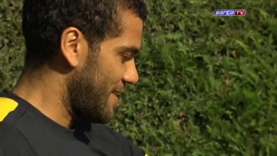 FC Barcelona - Gabriel enamora la plantilla del Barça