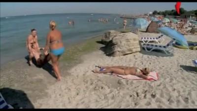 пляжные приколы