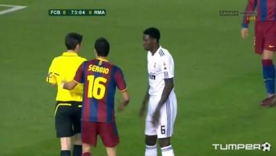 Симуляция на матче Реал Мадрид - Барселона