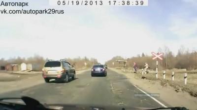 Toyota Land Cruiser сбил насмерть велосипедиста