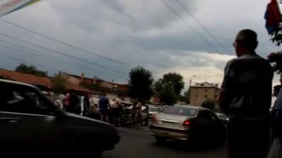 Страшнейшая авария  в Оренбурге