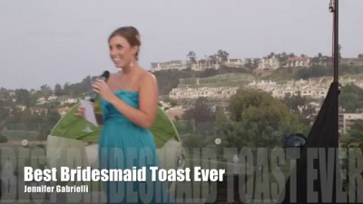 Best Maid of Honor Toast Ever (Eminem Rap)