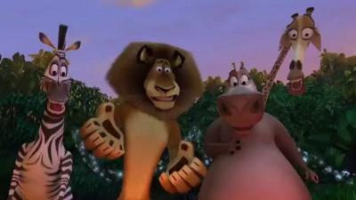А зачем подтираться ( мультфильм Мадагаскар 2005 )