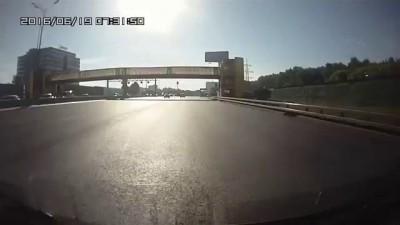 Авария в Москве 19 06 2016