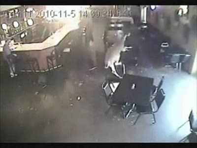 Бешеный олень в баре